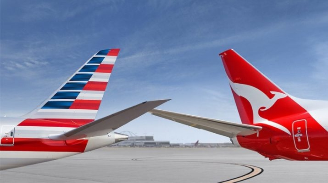 American and Qantas Resubmit JV Application to DOT