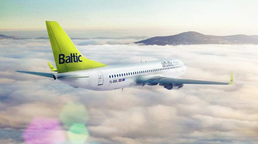 airBaltic Boeing 737 Returns to Riga Amid Smell of Ammonia