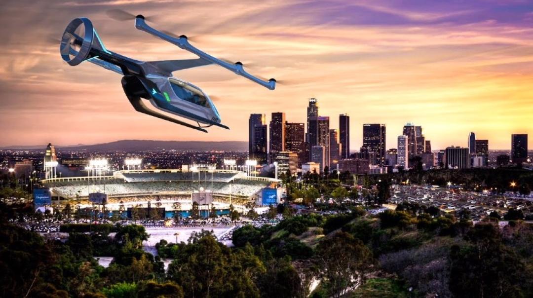 EmbraerX Unveils First eVTOL Concept