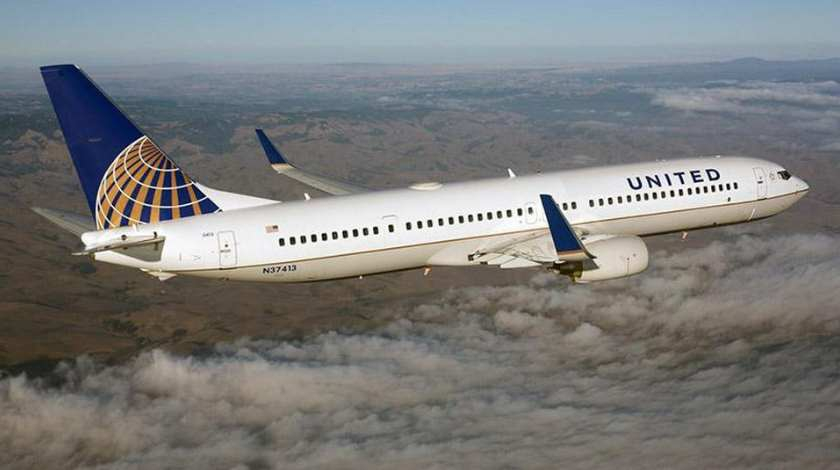 United Boeing 737 Experiences Tail Strike on Landing