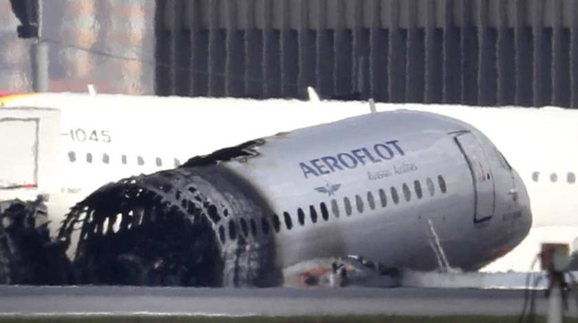 Initial Report: Superjet 100 Crash Triggered by Electric Storm