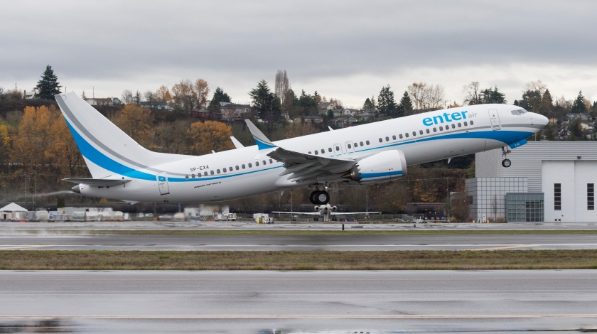 Boeing 737 MAX Scores First Order this Year from Enter Air