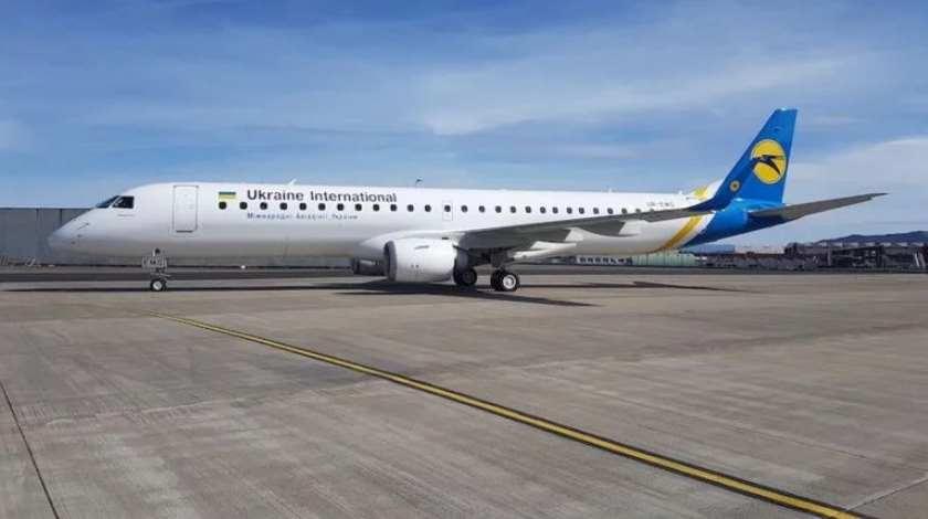 Ukraine International Adds Second Embraer E195
