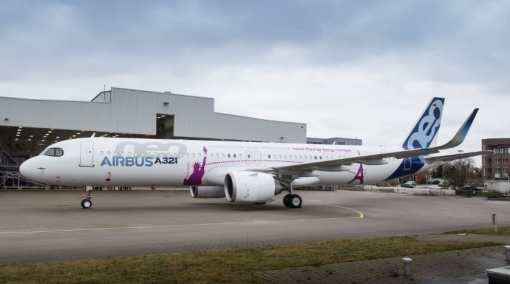 Airbus Rolls out First A321neo ACF