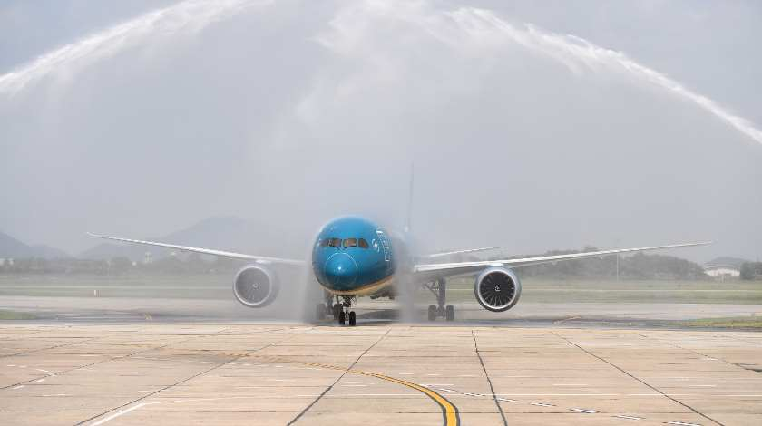 100th Aircraft to Vietnam Airlines Fleet: It is Boeing 787-10
