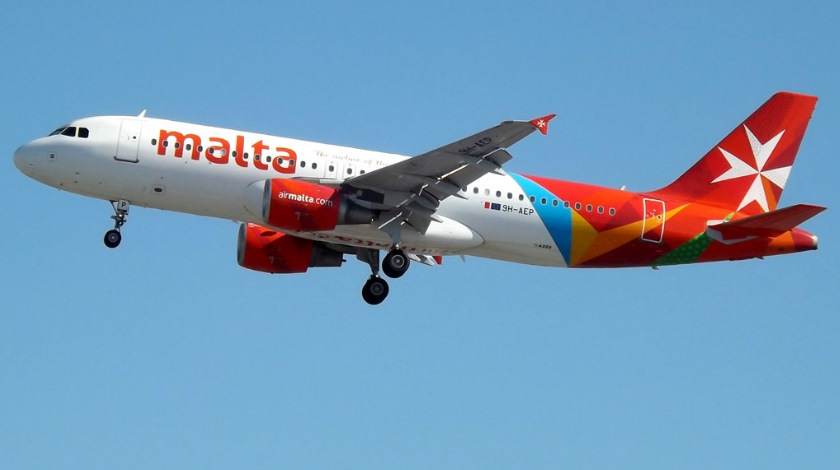 Air Malta to Stop Commercial Flights Until Further Notice