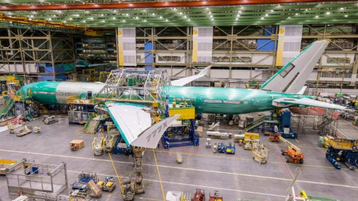 Lufthansa's First 777-9 Takes Shape