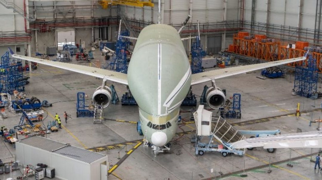 Airbus BelugaXL Passes Ground Vibration Test