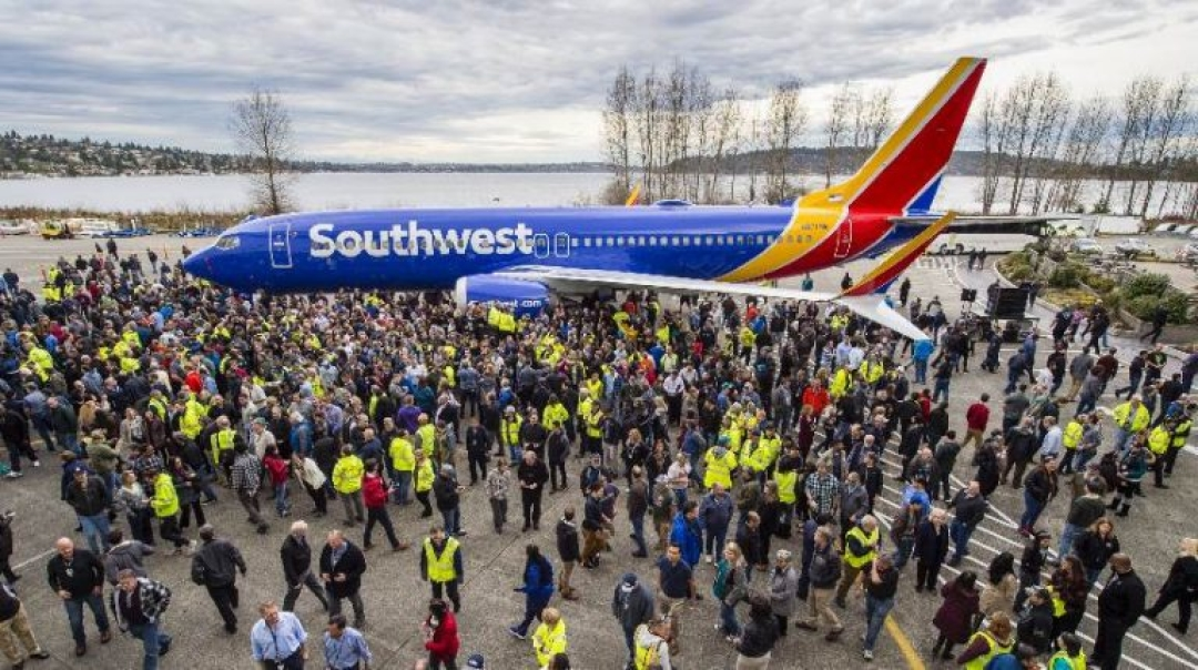 Boeing Recognized by GUINNESS WORLD RECORDS for 10,000th 737