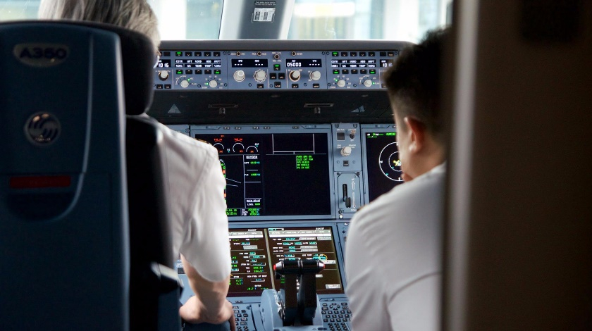 Airbus Defines Liquid Prohibited Zone in Cockpits of A350