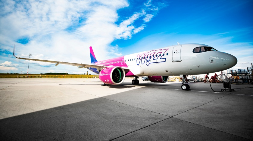 Wizz Air Receives Its First Airbus A320neo Aircraft
