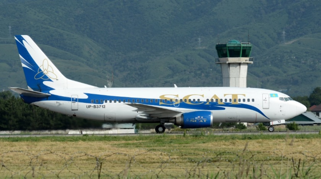 SCAT Airlines Boeing 737 Suffers Runway Excursion on Backtrack