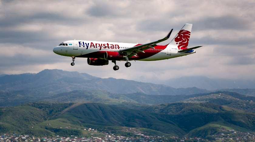 LCC Start-Up FlyArystan Targets 700,000 Passengers in 2019
