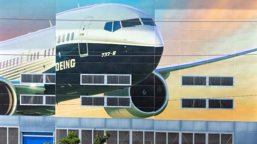 Boeing Shuts Down Washington State Factories for Two Weeks