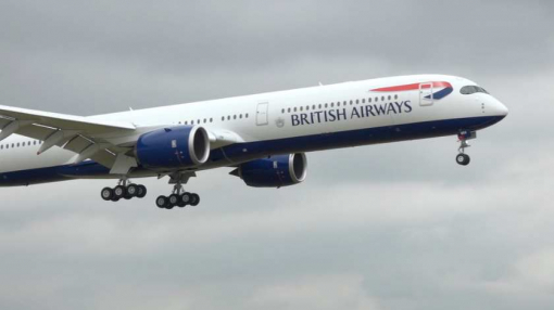 British Airways Welcomes Its First Airbus A350-1000