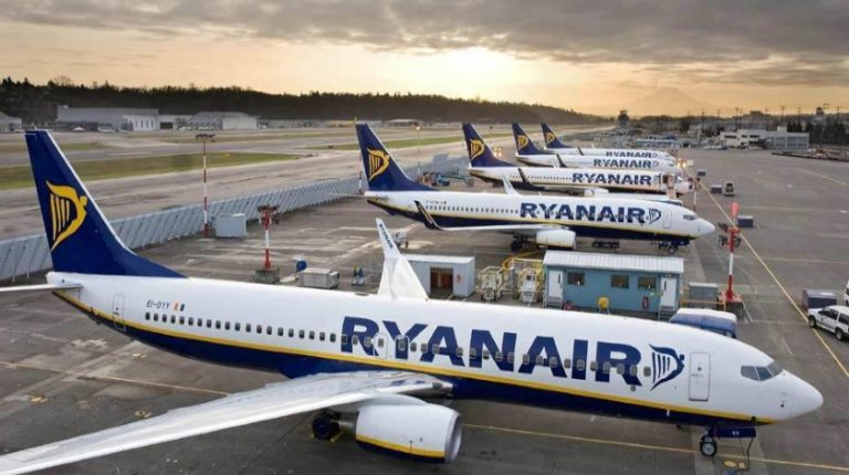 Ryanair Says Most If Not All Its Flights Might Be Grounded