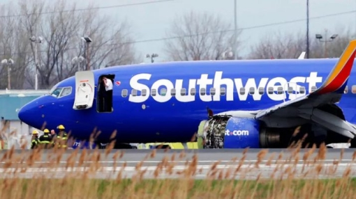 One Dead after the Engine Explodes on a Southwest Flight
