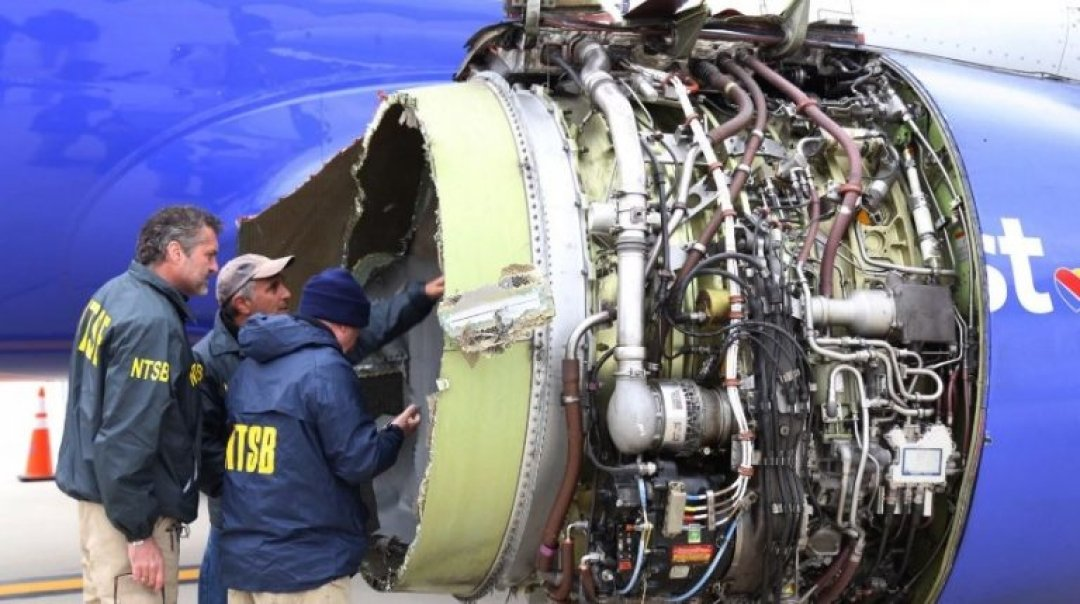 Southwest Airlines Cancels Flights for Engine Inspections after Deadly Accident