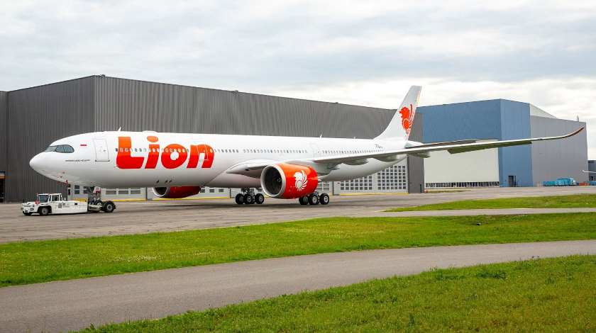 First Lion Air A330neo Already Wears Airline's Livery