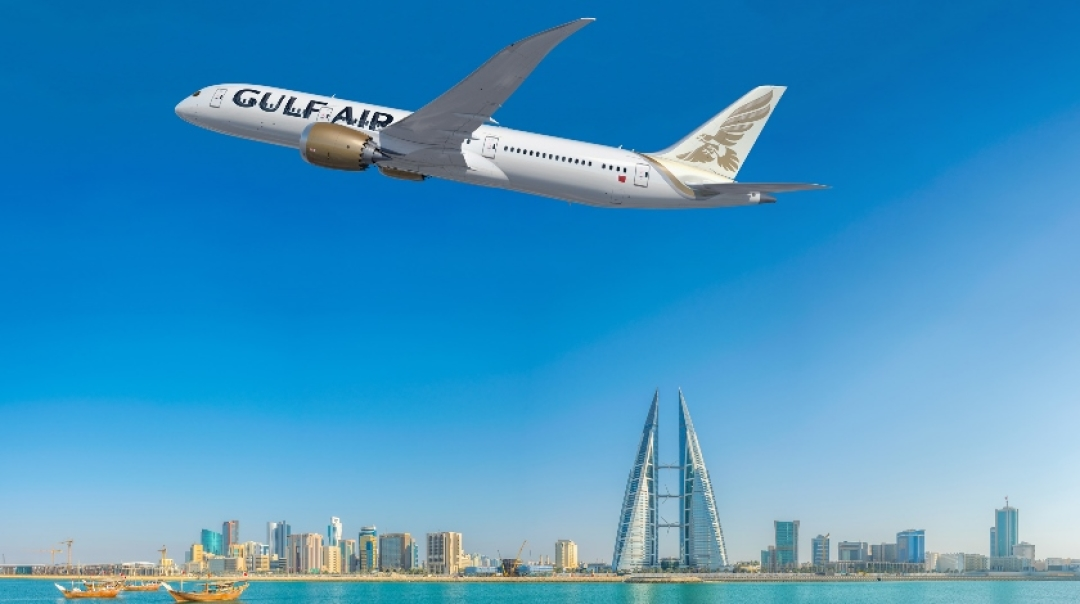 Boeing Delivers First 787 Dreamliner for Gulf Air