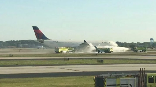 Engine Blaze Forces Delta Flight to London to Turn Back to Atlanta
