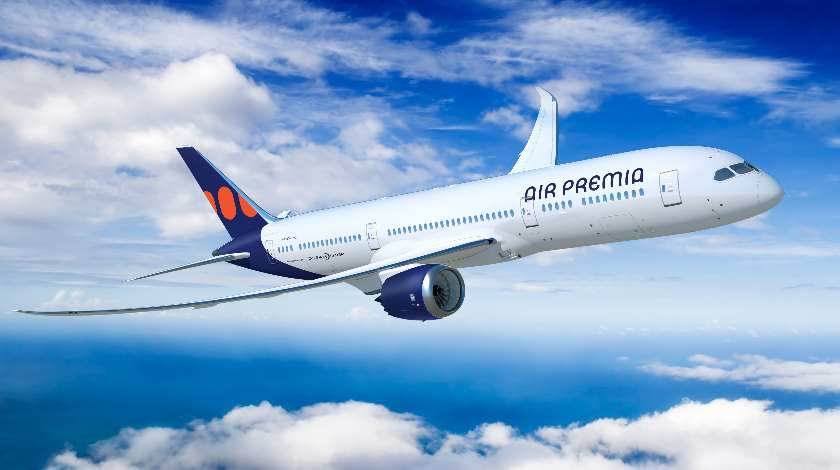 Air Premia Commits to Five Boeing 787 Dreamliner Jets