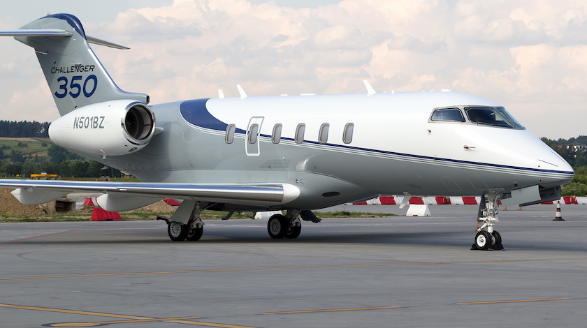 Bombardier: Challenger 350 World's Most Delivered Business Jet in 2018