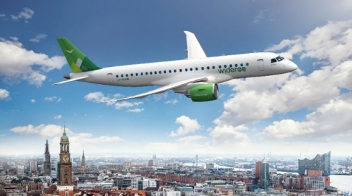 Widerøe Receives World's First Embraer E190-E2