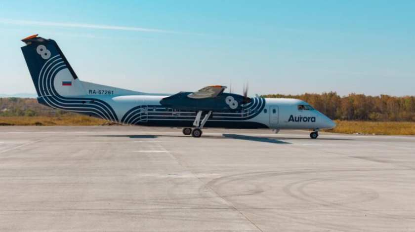 Aeroflot Group Airline to Acquire Five Dash 8-400 Turboprops