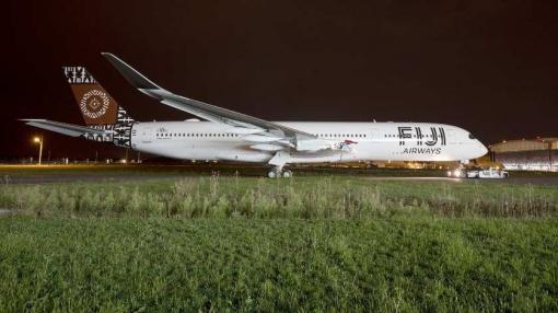First Fiji Airways Airbus A350 XWB