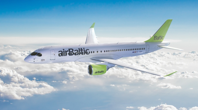 18th Airbus A220-300 Joins airBaltic Fleet