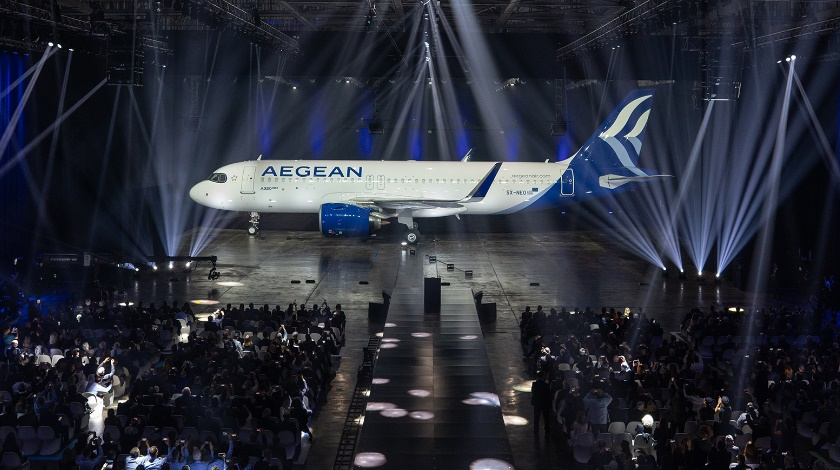 AEGEAN Begins a New Era with Brand New Airbus A320neos