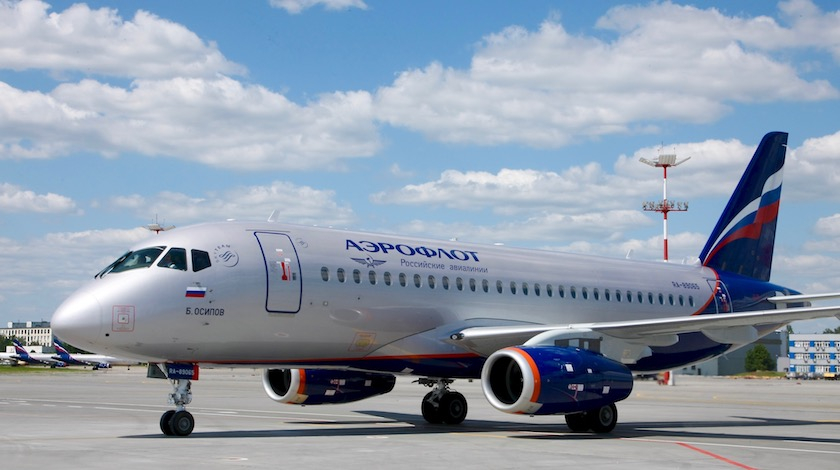 Aeroflot SSJ100: Rejected Take-off due to Hydraulic Failure