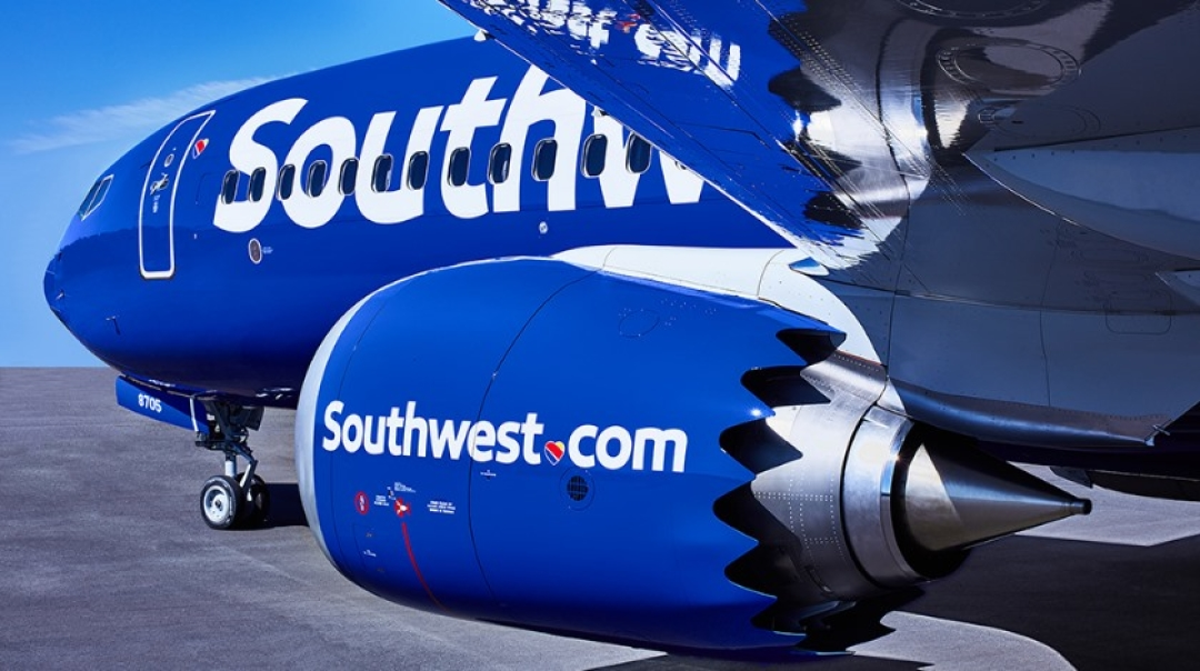 Southwest Airlines Exercises 40 Boeing 737 MAX 8 Options