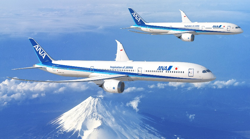 ANA Places Order for up to 20 Boeing 787 Dreamliners