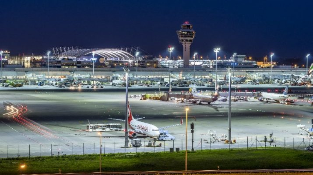 Passenger Traffic at Munich Airport Rises to New All-Time Record
