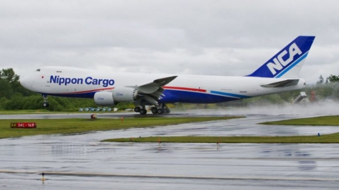 Nippon Cargo Grounds  Planes to Sort Maintenance Record Discrepancy
