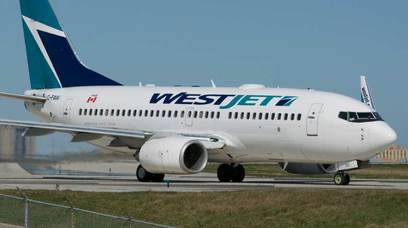 Pilot Incapacited on WestJet Boeing 737 Flight