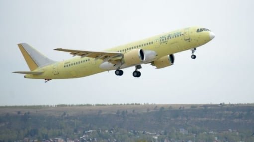 Second MC-21-300 Aircraft Joined the Flight Test Program