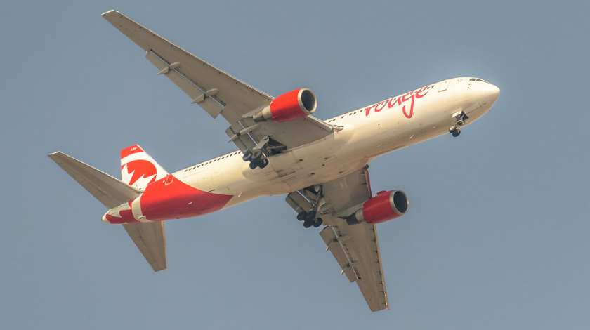 Air Canada Rouge Boeing 767 Rejects Take-off