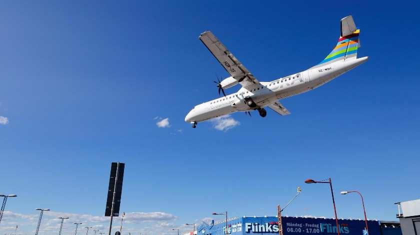 Braathens Regional ATR 72 Deals with Icing in Flight