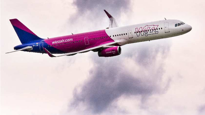Wizz Air Named Best Low-Cost Carrier in Europe for 2020