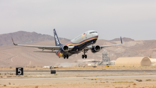 Boeing Delivers First 737-800 Boeing Converted Freighter