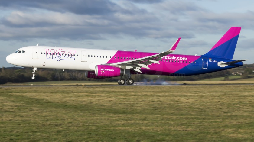 Wizz Air Airbus A321 Experiences Bird Strike