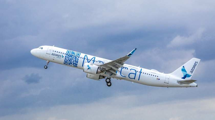 Azores Airlines Takes Delivery of Its First A321LR