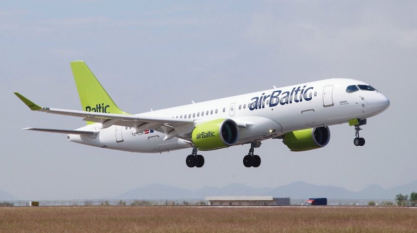 airBaltic Receives its 15th Airbus A220-300