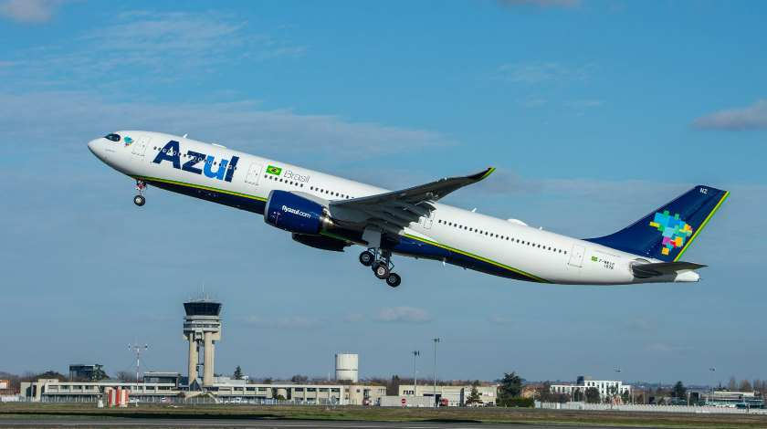 Azul Receives Airbus A330neo: First in Americas
