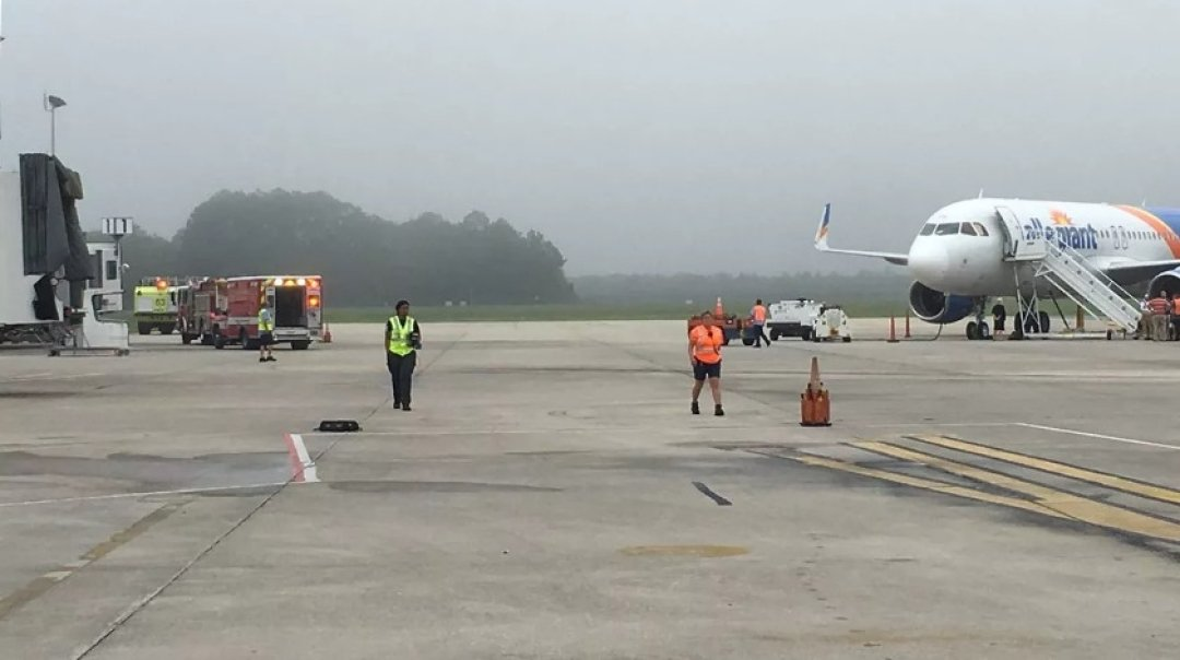 Allegiant A320 Pilot Incapacitated During the Flight