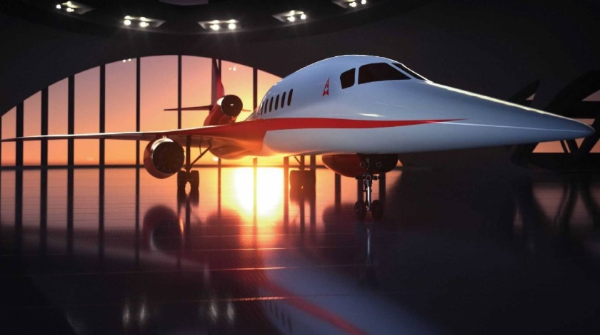 Spirit to Build Forward Fuselage for Supersonic Business Jet AS2
