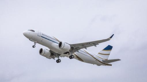 First Airbus ACJ320neo to Comlux